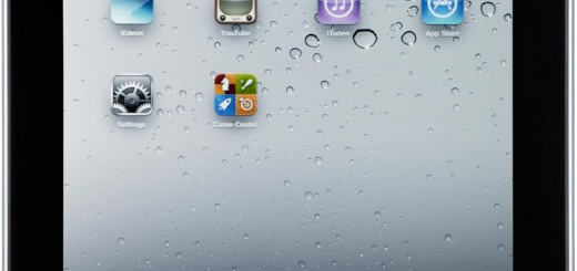 The front picture of the Apple iPad 2 Wi-Fi