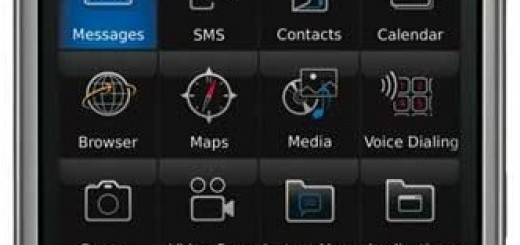 front picture of BlackBerry Storm 9530