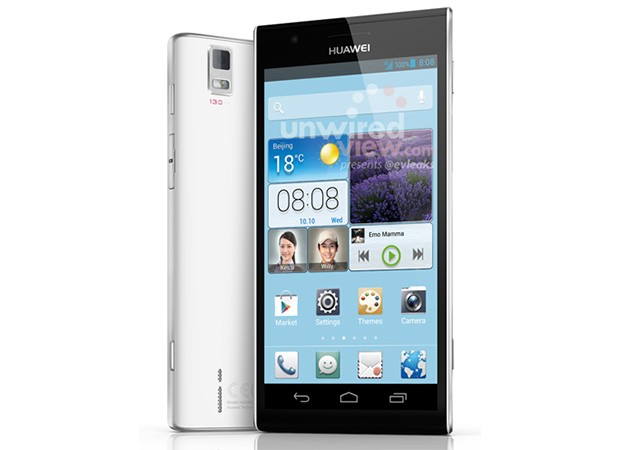 Huawei Ascend P2 - leaked image