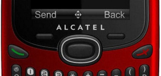 Alcatel OT-255 front