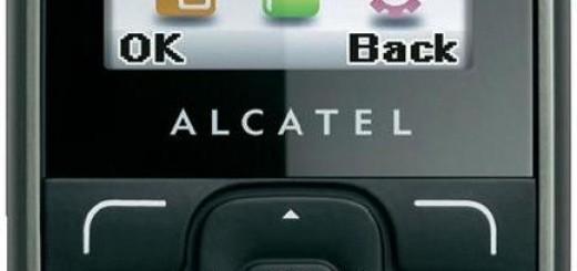 Alcatel OT-303 front