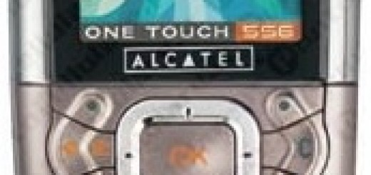 Alcatel OT 556 front view