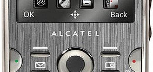 Alcatel OT-800 One Touch CHROME front