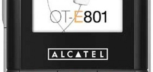 Alcatel OT-E801 front