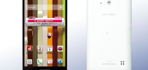 LG Optimus G Pro is the new flagship of the company for 2013.