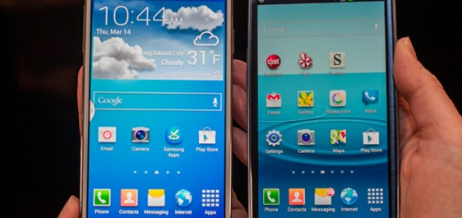 Some of the new features of Samsung Galaxy S4 may be passed to Samsung Galaxy S3 in the following months.