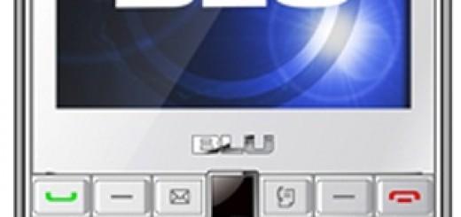 screen front of BLU Cubo
