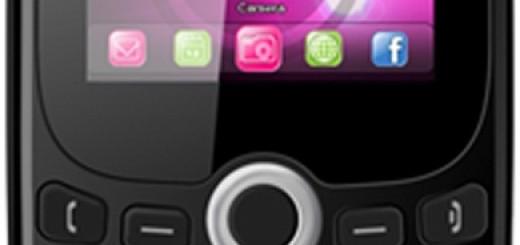 screen and keyboard of BLU Samba Q