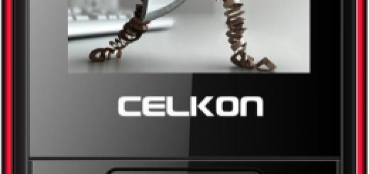 front of Celkon C205