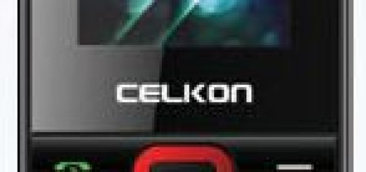 front picture of Celkon C207