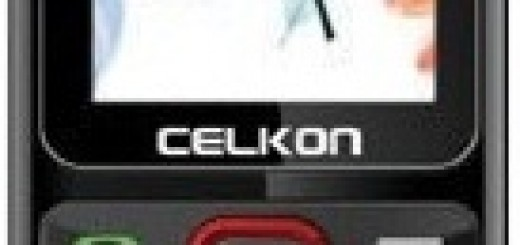 front picture of Celkon C303