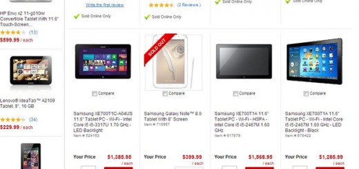 Office Depot offers Samsung Galaxy Note 8.0 for a relatively high price of $399.