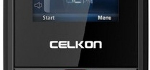 front of Celkon C203,