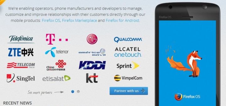 Two devices that run on Firefox OS were launched on the market