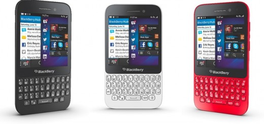 BlackBerry Q5 presented in a hands-on video