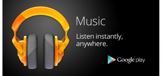New music subscription services provides by Google