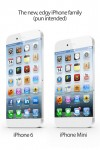 the concept for iPhone 6 compared to iPhone mini