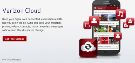New Verizon Cloud Service for iOS