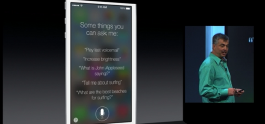 New features for Siri in iOS 7