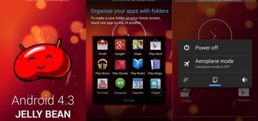 screens of the leaked Android 4.3 Jelly Bean ROM