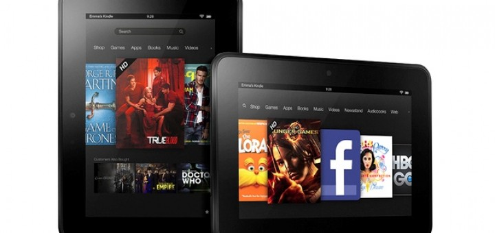 Amazon launches 3 new Kindle Fire HD tablets