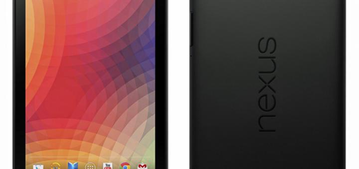 Google Nexus 7 by evleaks