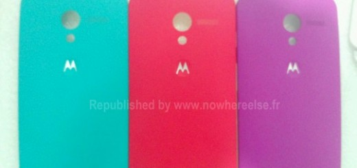 New leak reveals colorful options for the backplate cover of Moto X