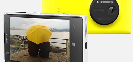 Nokia Lumia 1020 press-shoot in yellow
