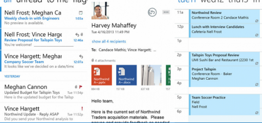 Outlook Web iPhone app
