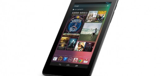 Google Nexus 7 just the way you can see it from this angle