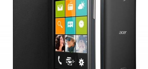 Acer Liquid Z3 will be offered in two color versions - black and white
