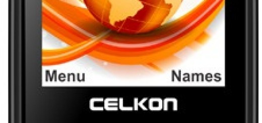 a front picture of Celkon C67+