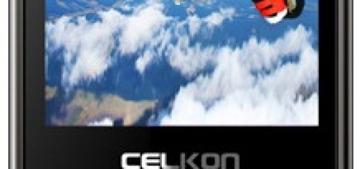 a front picture of Celkon C74