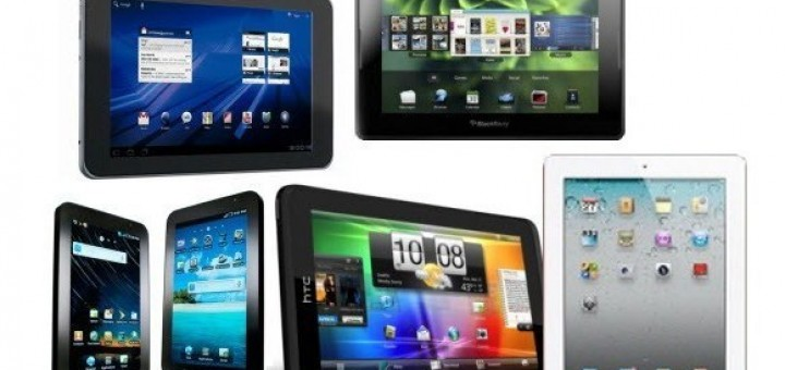 Closer look to four modern large-sized tablets