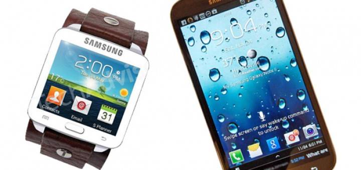Galaxy Note 3 and Galaxy Gear will be ready for shipping soon after they become officially announced