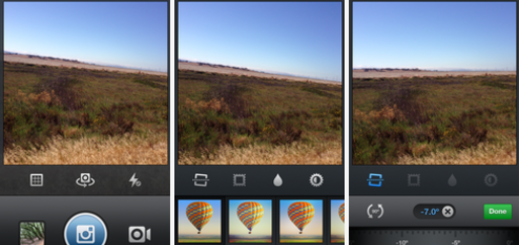 Instagram version 4.1 included video support and tools for photo straightening