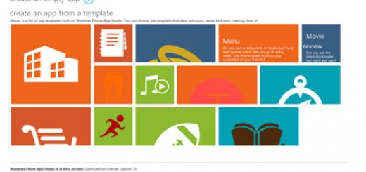 Windows Phone App Studio is the new web-based tool for developers