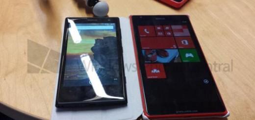 Nokia Lumia 1520 caught on camera next to Lumia 1020