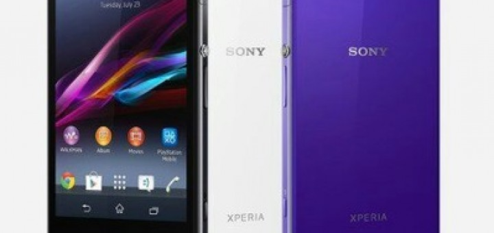 The expected Sony Xperia Z1 device with new information around it