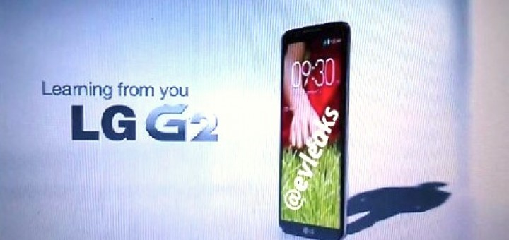 LG G2 to be released soon officially