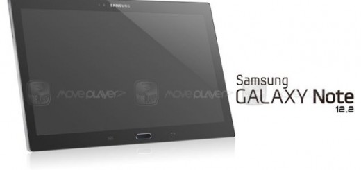 SM-P900 aka the new 12.2-inches Samsung tablet poses for the camera