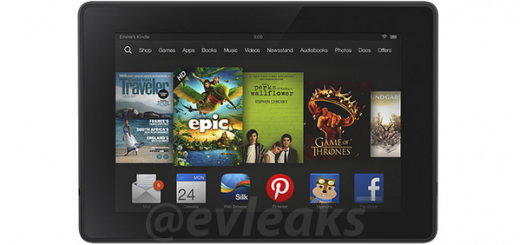 Next generation Amazon Kindle Fire tablet appears in render photos