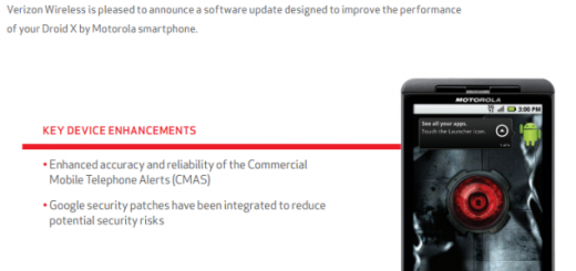Motorola Droid X is getting updated for first time in the last year and a half
