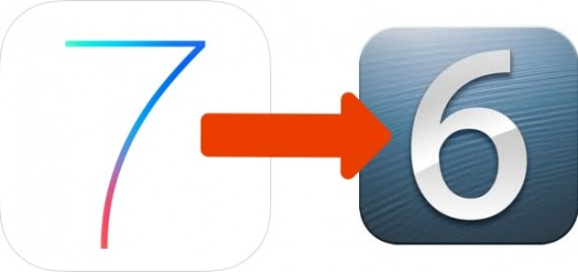 Users no longer have the option to revert from iOS 7 to iOS 6