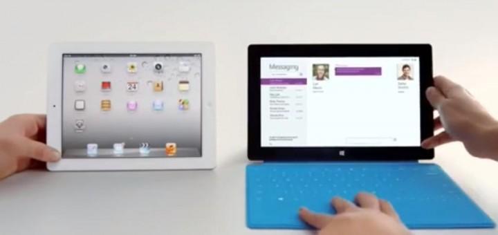 Windows Surface RT now mocks Apple's iPad