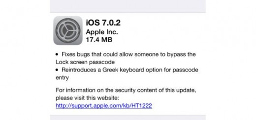 iOS 7.0.2 brings bug fixes and improvements