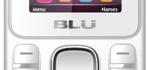 front view of BLU Jenny TV 2.8
