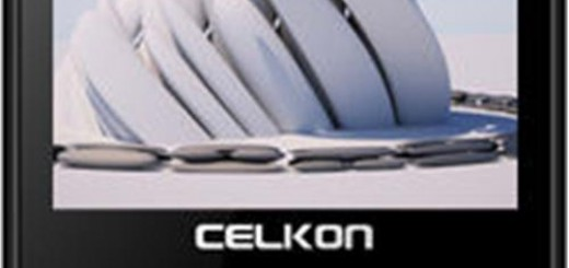 a front facing photo of Celkon C64