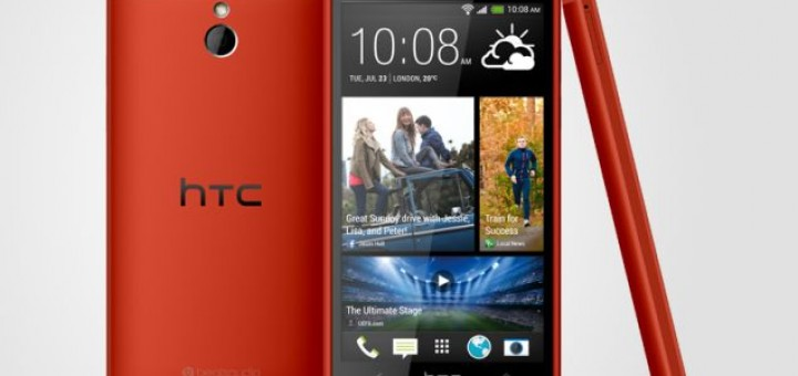 HTC One mini in red shell will be released next month in the UK