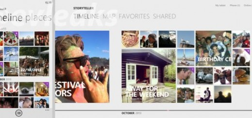 Storyteller app by Nokia screenshots and features